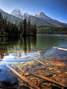 Taggart Lake, Grand Teton Natl Park, WY    Of all the Natl Parks I...