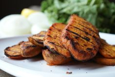 Smokey Chipotle Grilled Sweet Potatoes