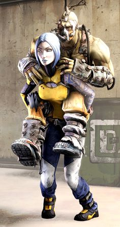They tell me this happened. Krieg Borderlands, Borderlands Maya, Borderlands Series, Tales From The Borderlands, Video Game Art, Video Games, Handsome Jack, Art Poses, Best Games