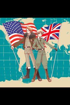 America & England - Hetalia