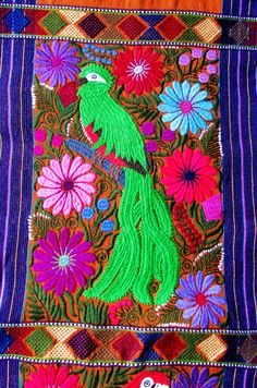 Table Runner Mexican Textile Handmade by ArteDeMiTierraMX on Etsy