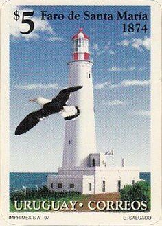 #Lighthouse - Filatelia #Faros de #Uruguay    http://dennisharper.lnf.com/