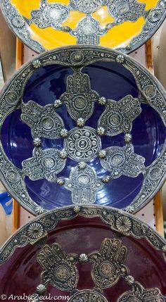 Hand of Fatima bowls ~ Tangier, Morocco