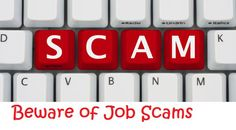 job scams, work from home, scams, job advertising scams