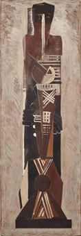 GUSTAVE MIKLOS (1888-1967) FIGURE ABSTRAITE, 1921-1924 CHRISTIES