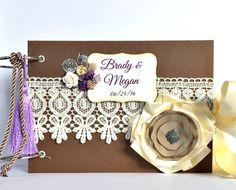 Wedding Album  Wedding Scrapbook Album  by KristabellaCreations