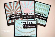 Desde el taller de Vilma-Set de tarjetas Amiga