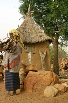 Dogon house - Dogon Country, Mopti, Mali
