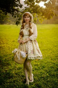 Dress by Yolanda country lolita
