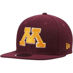ad7b430d728 Minnesota Golden Gophers New Era State Clip Original Fit 9FIFTY Adjustable Snapback  Hat - Maroon