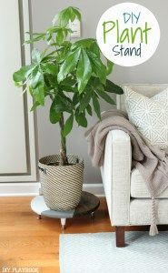 diy plant stand to hold indoor houseplants