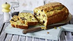 Cheese, pistachio and prune cake: Savoury cakes are very popular in France, they appear in boulangeries and with a side salad on lunch menus in chic cafés, but they're most likely to appear at a picnic. They are super-simple to make and can be adapted to use whatever leftovers you have in your fridge – just follow the basic batter recipe and get creative with the fillings!