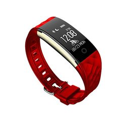 Fitness Tracker, MyRBT S1 Waterproof Heart Rate Monitor Multiple Movement Mode Smart Wristband Activity Bracelet for Android and IOS (Red) -- Want additional info? Click on the image. (This is an affiliate link) #FitnessTracker