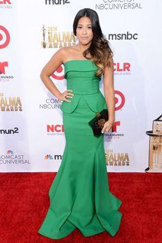 11 Looks da Gina Rodriguez no Tapete Vermelho - Fashionismo