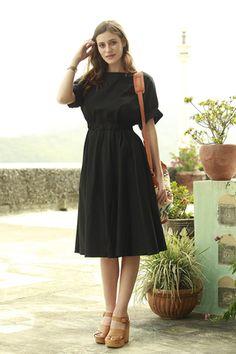 Falcon Dress Black