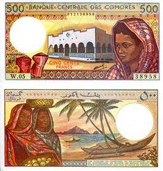 500 Francs  UNC Banknote