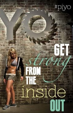 Get strong from the inside out #piyo http://www.chalenejohnson.com/piyo