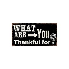 What are you thankful for? - #Magnet
