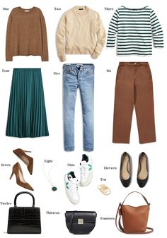Wear now, wear later ~ Lilly Style Mode Outfits, Casual Outfits, Fashion Outfits, Womens Fashion, Casual Attire, Fashion Capsule, Inspiration Mode, Look Fashion, Minimalist Fashion