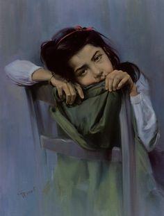 WOW !! painting by Iranian #artist : Morteza Katouzian .