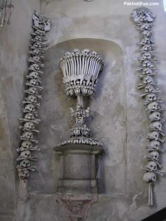 Church made of Human Bones