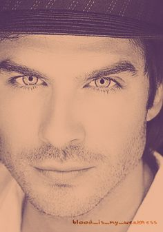 Ian Somerhalder. Most beautiful man I've ever seen.