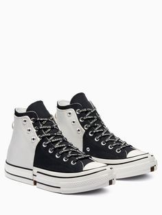 Crazy Shoes, Me Too Shoes, Converse Chuck Taylor 2, White Nike Shoes, All Star Shoes, Aesthetic Shoes, Hype Shoes, Outfits With Converse, Sneaker Heels