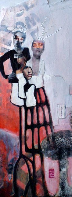 angie brown / female figures in art