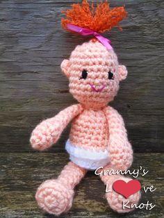 Granny's Love Knots: Pearl Babies  ~ free pattern ᛡ