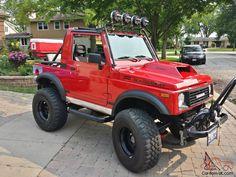 Suzuki Vitara 4x4, Jimny Suzuki, Suzuki Sj 410, Samurai, Car Supplies, Truck Mods, Mini Trucks, Pinterest Photos, Car Tuning