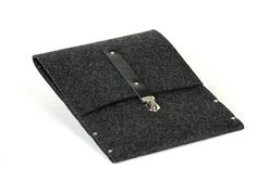 MacBook 11 Air briefcase sleeve case black synthetic by SleeWay, $30.00