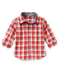 Checked Shirt at Gymboree (Gymboree 3m-5T)