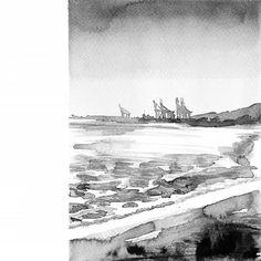 @arte.malaga • Zdjęcia i filmy Instagramie Black And White Painting, Black White Art, Malaga, Painting & Drawing, Drawings, Artwork, Instagram, Work Of Art, Auguste Rodin Artwork
