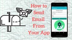 Android Email Intent Tutorial - How to Send Email From Within Your App Email Application, Android Tutorials, Android Studio, Contact Form, Improve Yourself, Learning, Study, Teaching, Studying