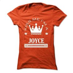 Kiss Me I Am JOYCE Queen Day 2015 - #wifey shirt #pocket tee. CHECK PRICE => https://www.sunfrog.com/Names/Kiss-Me-I-Am-JOYCE-Queen-Day-2015-lhevdtdpjq-Ladies.html?68278