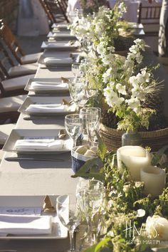 Estancia santa Elena, Jauregui, ambientación, casamiento, boda, wedding, decor, estilo campestre, centro de mesa, centerpiece