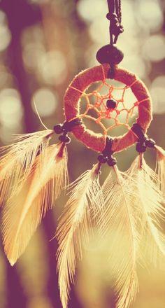Dreamcatcher Feathers Closeup iPhone 6 Plus HD Wallpaper