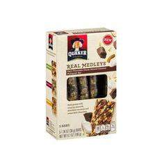 Best New Snack Bar | Quaker Real Medleys Dark Chocolate Chunk Almond Coconut Multigrain Bar
