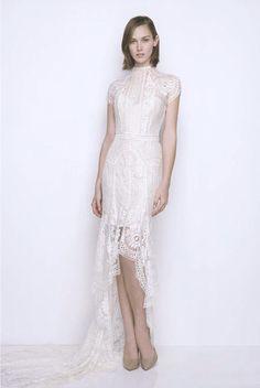 Lover White Magick Collection short sleeve wedding dress. The Wedding Scoop Spotlight: Short Sleeve Wedding Dresses