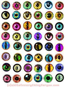 Eye Collage Circles 34 Ideas For 2019 Eyes Clipart, Printable Art, Printables, Clip Art, Bottle Cap Images, Dragon Eye, Doll Eyes, Anime Eyes, Eye Art