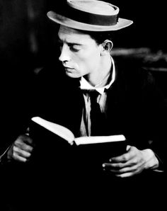 Buster Keaton, 1920s. His beauty is always so unexpected.
