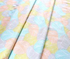 Cloud9 Fabrics Wound Up 158808 Yellow