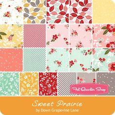 "Sweet Prairie 5"" Stacker Down Grapevine Lane for Riley Blake Designs - Sweet Prairie - Riley Blake Fabrics | Fat Quarter Shop"