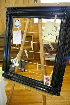 old photo display