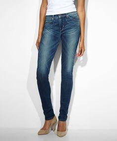 Revel Slight Curve Skinny Jeans in High Low, $98.00. via StyleList