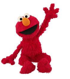 Elmo- the love of Connor's life(beside mommy and daddy,of course)