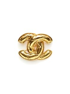 2fb38154520 Chanel Logo Brooch by Chanel on Gilt.com Chanel Brooch
