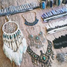 Perfect jewellery collection. (Apart from the dreamcatcher, but that's a story for another day!)