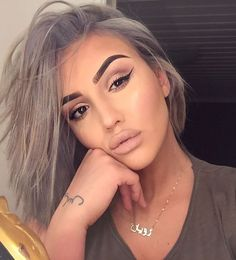 Makeup and hair Makeup Is Life, Makeup Goals, Makeup Tips, Beauty Makeup, Eye Makeup, Hair Makeup, Hair Beauty, Divas, Corte Y Color