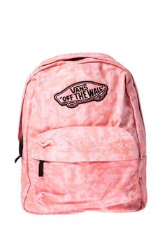 VANS BACKPACK (SPARKLE) CORAL